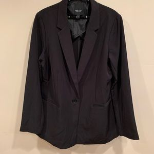 Simply Vera Classic Black Blazer | SZ L NWOT